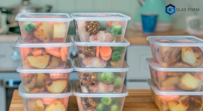 El PET, plástico para embalar alimentos más utilizado