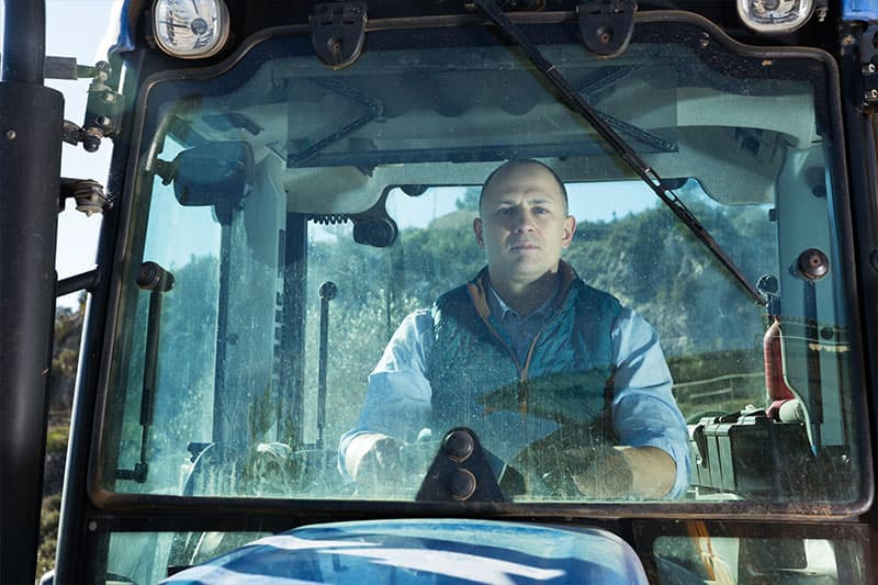 Acristalamiento tractores