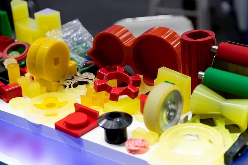 Piezas de plástico a medida